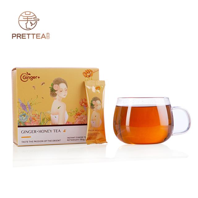 Chinese honey with ginger tea/instant honey ginger tea - 4uTea   4uTea.com