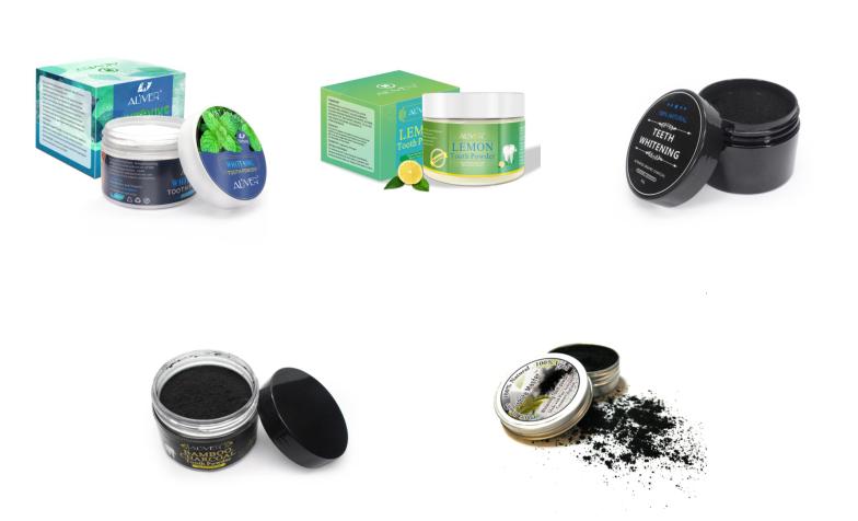 אמזון למעלה מוכר 2020 ה-FDA 10g צנצנת מותג פרטי 100% טבעי טבעוני קוקוס הופעל פחם הלבנת אבקת שן