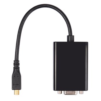 Micro HDMI to VGA Adapter Cable Display Port Mini Display Port HDMI VGA DVI Adapter Cable Factory Direct