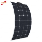Corrosion resistance to salt fog High efficiency 32 cell ETFE PET 110W semi flexible solar panel