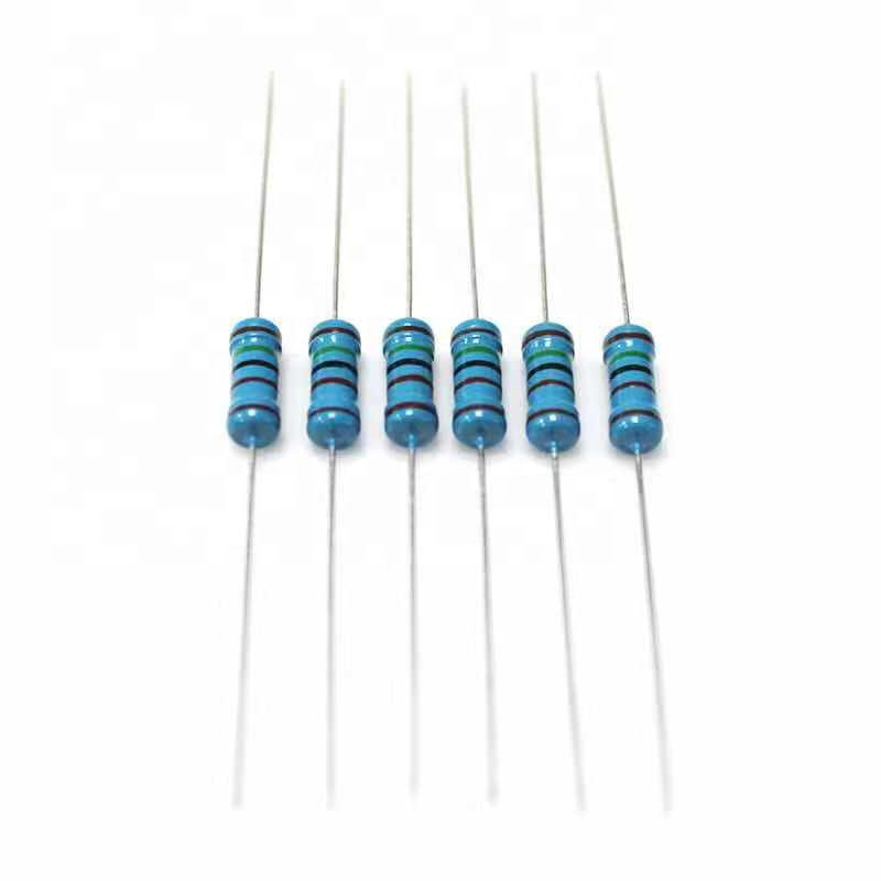 Pack of 50 Carbon Film Resistors 1//4W  2.2Ohm 1M Ohm Available