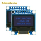 Oled Display Module 128x64 Resolution0.96 Inch OLED Display Module with SPI Interface Blue 7P