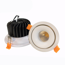 5 שנים אחריות 0-10V ניתן לעמעום cob <span class=keywords><strong>downlight</strong></span> 8W 12W 15W <span class=keywords><strong>led</strong></span> שקוע תקרת אור