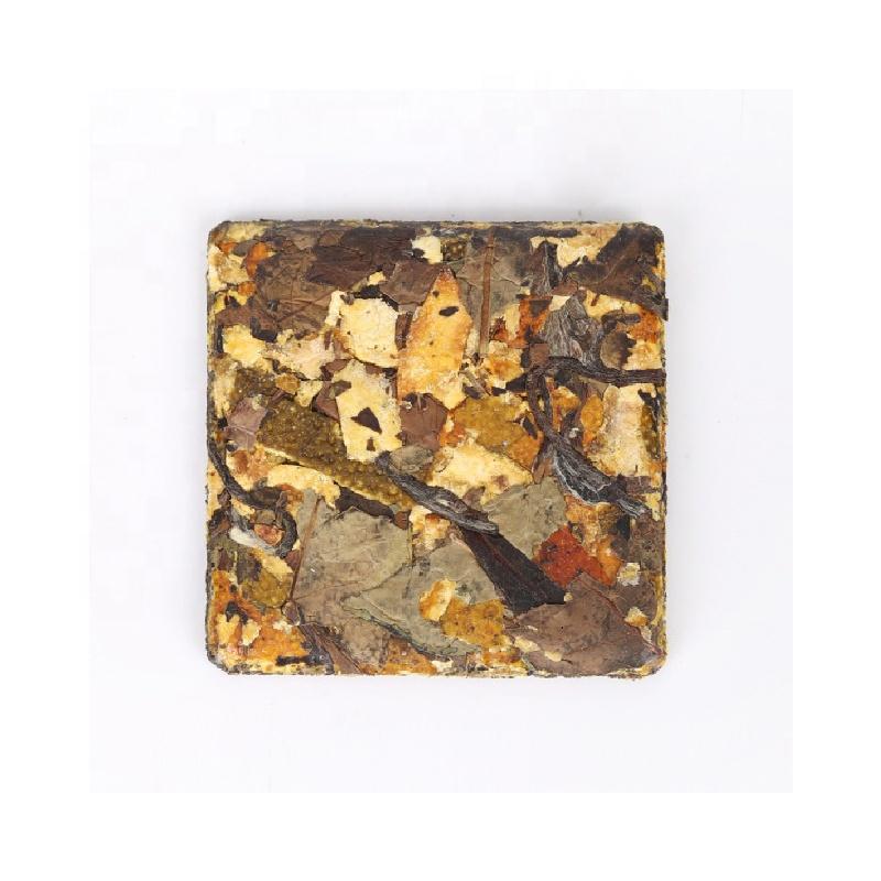 White tea brick with tangerine peel 5g 8g - 4uTea   4uTea.com