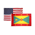 Grenada Courtesy Boat Flag with Roped & Toggled