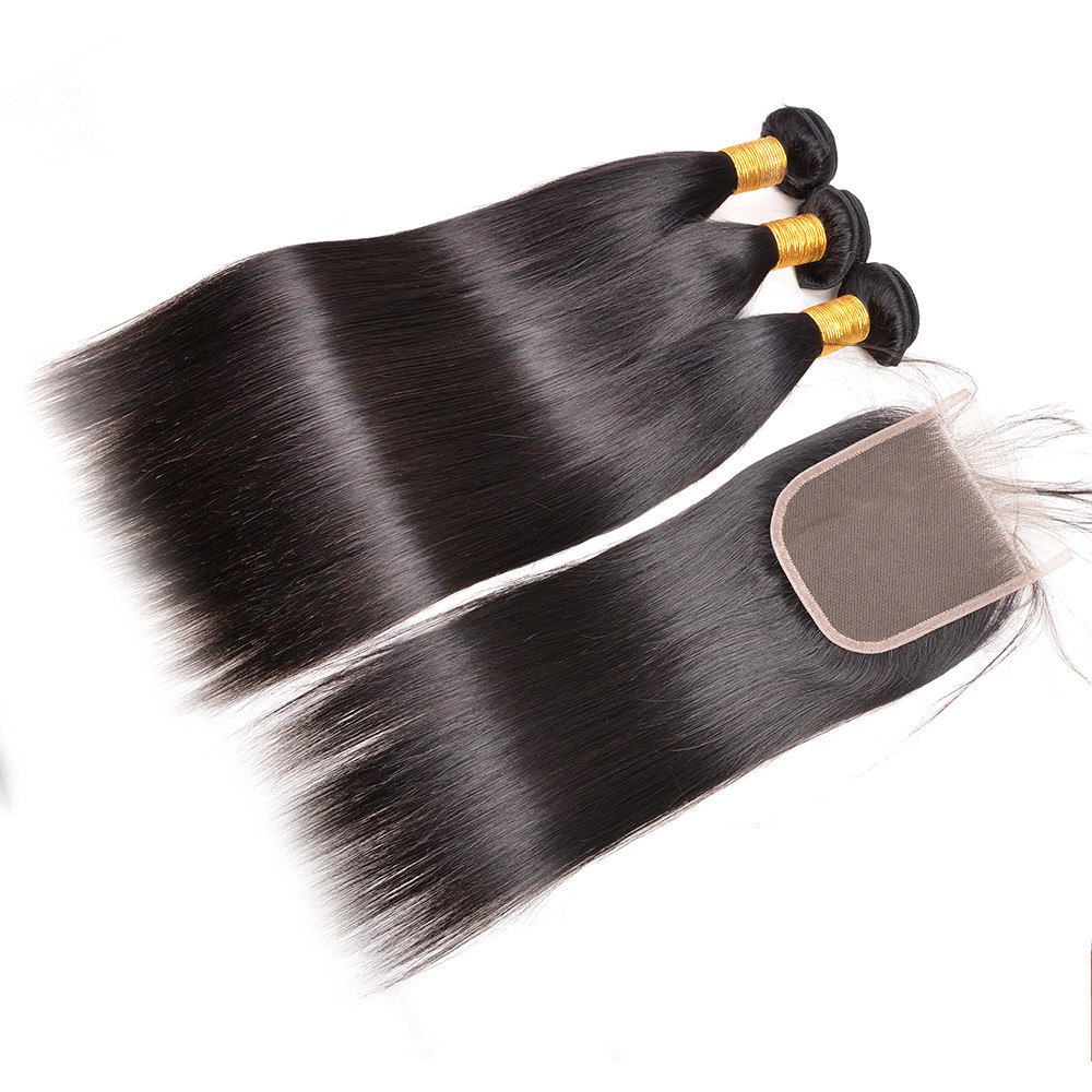 9a unprocessed virgin brazilian human <strong>hair</strong>,dropshipping 3 to 4 <strong>hair</strong> bundles with lace closure
