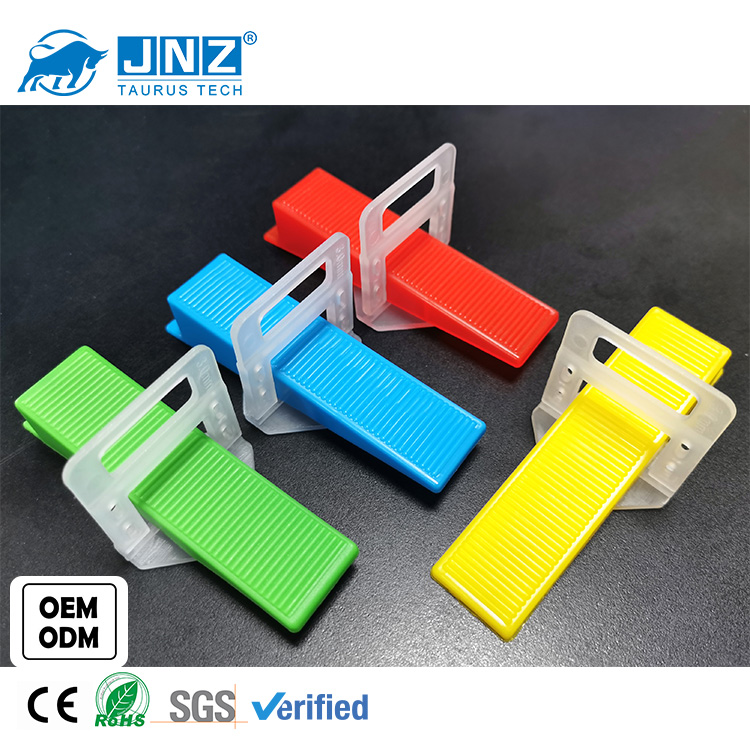 JNZ OEM tile leveling system clips wedges floor wall plastic tiles spacers levers