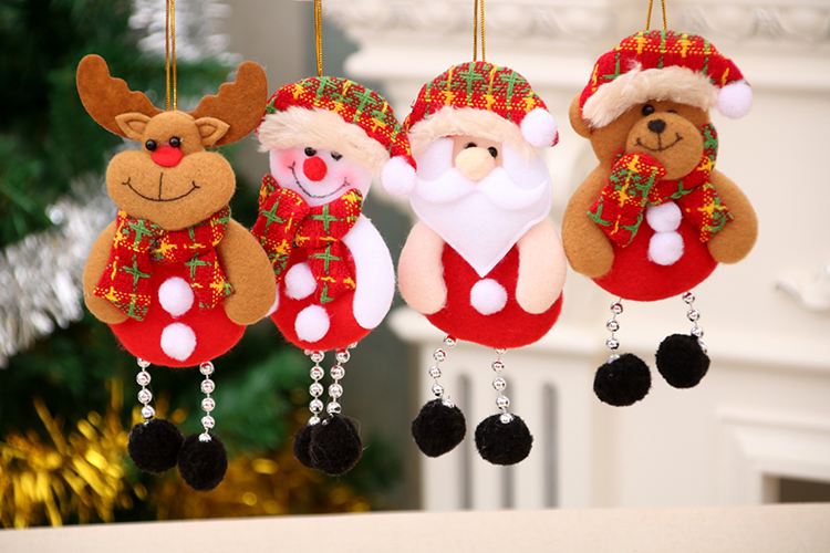 Wholesale Christmas Ornaments Cute Christmas Tree Decoration Ornaments