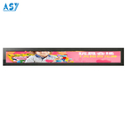 High contrast ratio 3000:1 bar type LCD panel for advertising