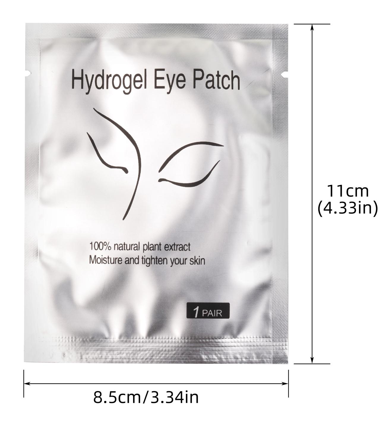 Free Sample Hydro Gel Eye Patch Lint Free Eyepatch For Eyelash Extension
