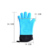 Double Layer Design Silicone Heat Resistant Grilling Gloves for Cooking Baking Barbecue Potholder