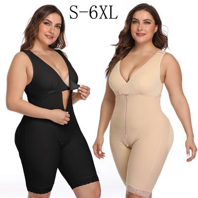 Großhandel plus größe Ouvert body shaper für KURVIGE frauen abnehmen body nahtlose shapewear