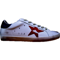 Girls femme Men Comfortable Flat Chaussures Goose Sneakers Golden Superstar Hi Star Starter Donna Genuine Leather Casual Shoes