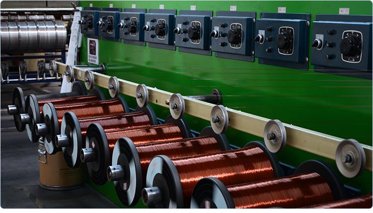 China alambre de cobre esmaltado