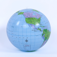 Wholesale inflatable earth beach ball toys
