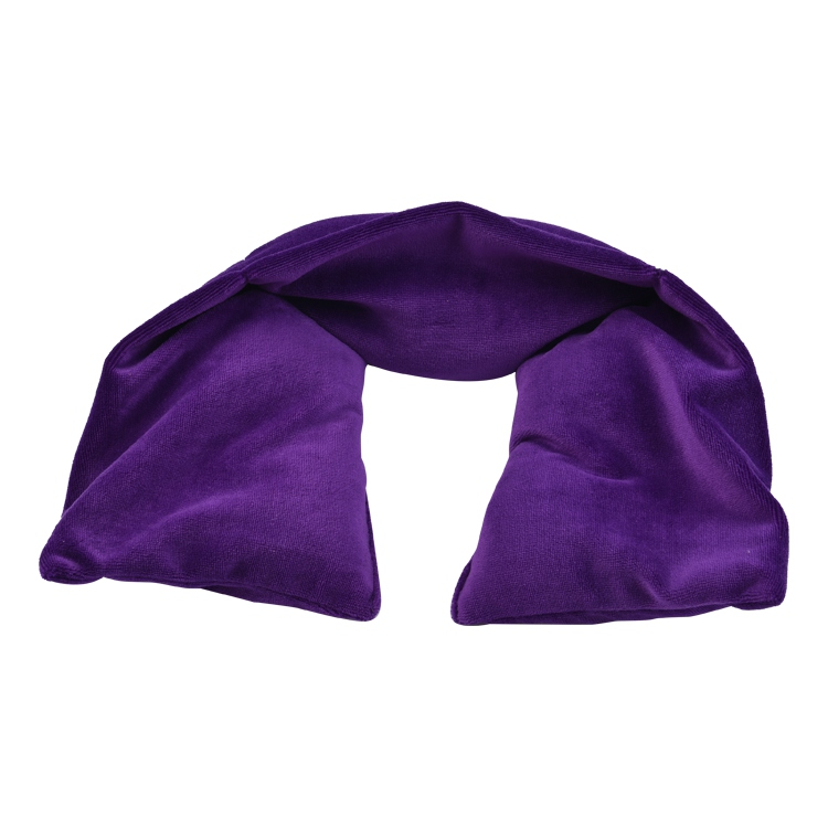 Custom reusable pain relief body comfort herbal flaxseed lavender wheat bag warm moist neck shoulder waist microwave heat pack