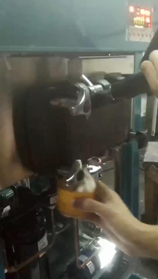 工場販売 3 風味工場出荷時の価格ミニソフトクリームマーキングマシン