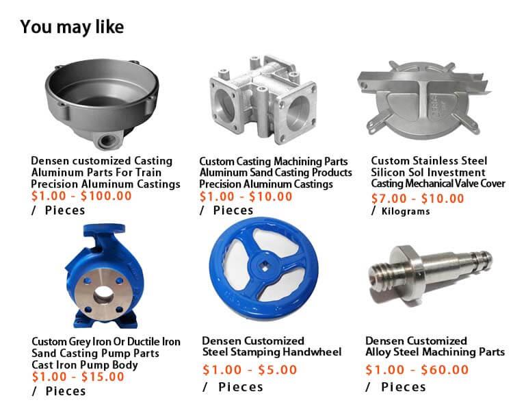 Densen Angepasst 316 edelstahl investitionen Verloren Wachs Feinguss Metall Teile für Industrielle Ausrüstung