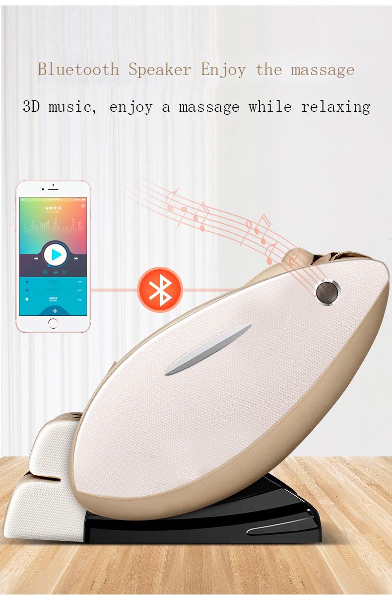 4D Quente Massageando Rolo 4d gravidade zero cadeira de massagem elétrica