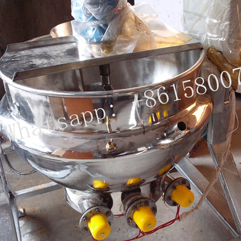 Cooking Kettle for Food Processing,Tilting Electric-heating Jacketed Kettle