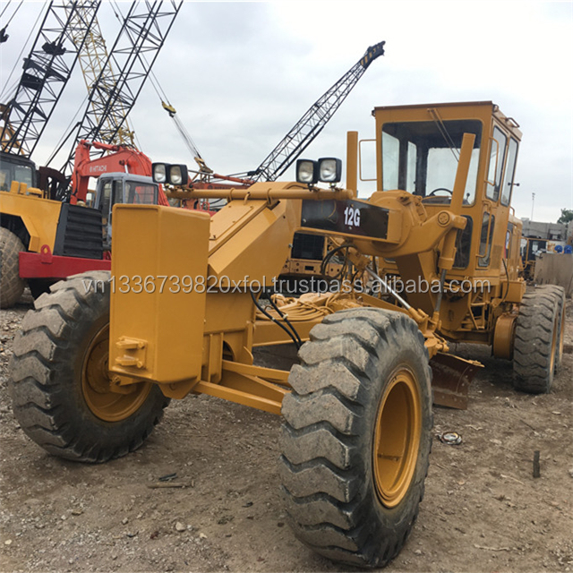 12g used CATER motor grader for sale