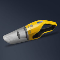 New design mini handheld cordless 90w 12v powerful car portable vacuum cleaner