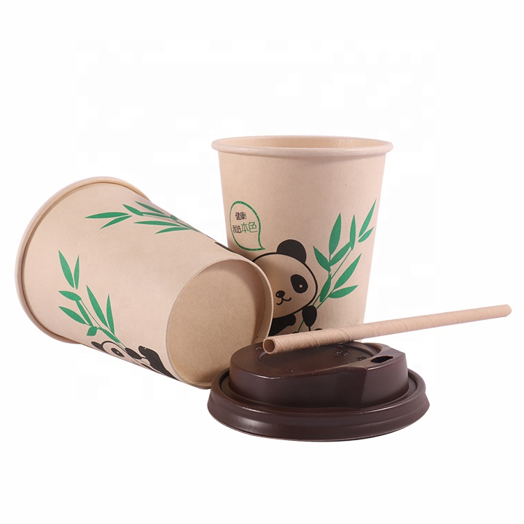 Factory Direct Eco Friendly Biodegradable Bamboo Fiber Coffee Cup