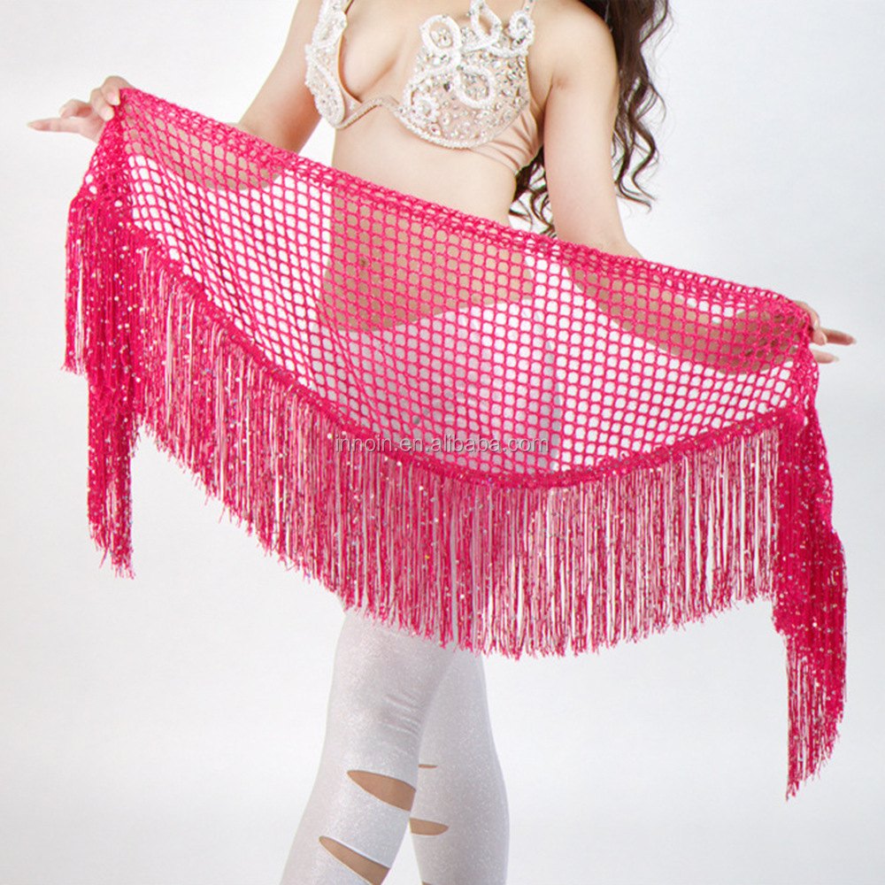 Indian Stage <strong>Belly</strong> <strong>Dance</strong> Stage Clothing Latin Show Costumes Tassel Sequins Europe and America New Wholesale Hot Sale