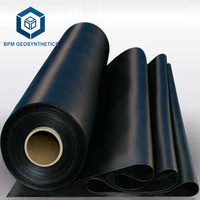 Waterproof Plastic Liners 500 Microns HDPE Geomembrane