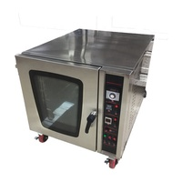 Hot Air 5 Trays Commercial Gas Convection Bakery Oven for Sale
