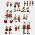 Christmas Elf On A Shelf Cute Sofe Toy Christmas Doll Ornaments