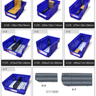 Injection Save 50% on Freight Warehouse Back Hanging Storage Bin Plastic Stackable Bins Parts Box