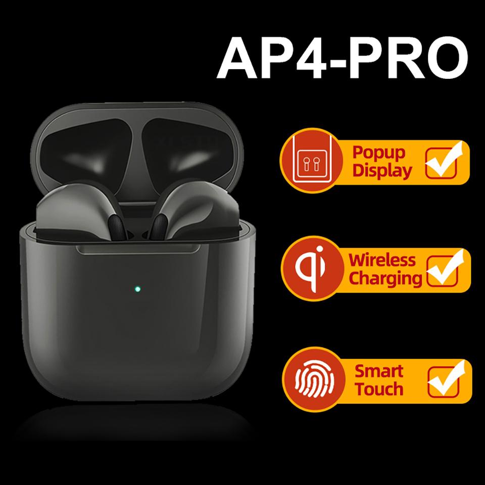 Pro 4 Tws Wireless Headset Bluetooth Earphones Waterproof Music Headphones Sports Earbuds Business Headset For all Smartphones