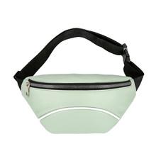 Повседневная поясная сумка из искусственной кожи, Женская нагрудная сумка, Женская Повседневная элегантная легкая повседневная спортивна...(Китай)