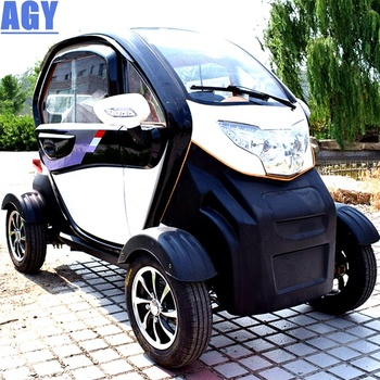 AGY durable 4x4 electric auto vehicles car for 3 person