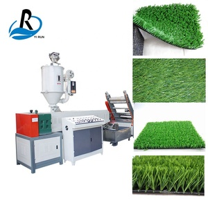 NCPS-65 High Efficiency Flat Yarn Artificial Football Turf Grass Making Machine