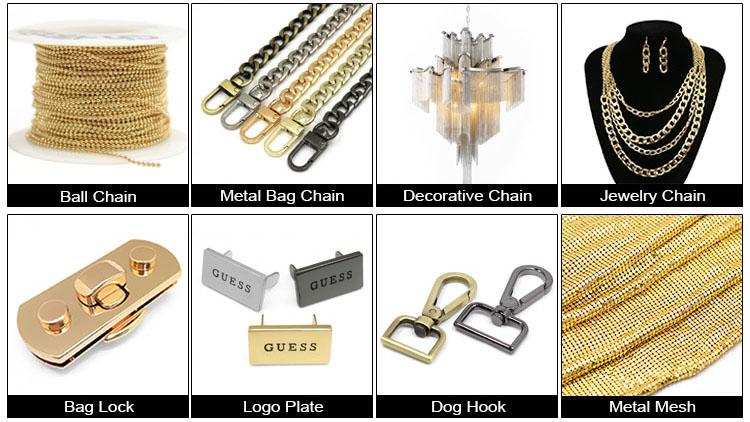 高品質シルバーゴールドとローズゴールドカラーキーフォブハードウェアとキーリング