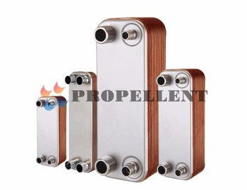 High Heat Transfer Efficiency Copper Brazed Plate Heat Exchanger Equal Air Compressor Oil Cooler From Anhui