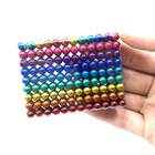 [LYC] 216 512 5mm magnetic ball colorful magnet ball 216 5mm Neo cube magnetic 5mm 216 neodymium magnet
