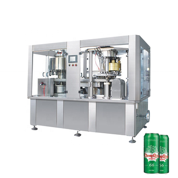 SOKOS machinery can aluminum cans production line filling and sealing machine