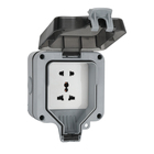 Single Multi Functional Five Hole Socket Switch Outdoor Weatherproof Socket Box Electrical Switch Socket
