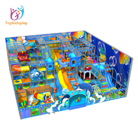 Kids zone indoor playground equipment ocean theme park