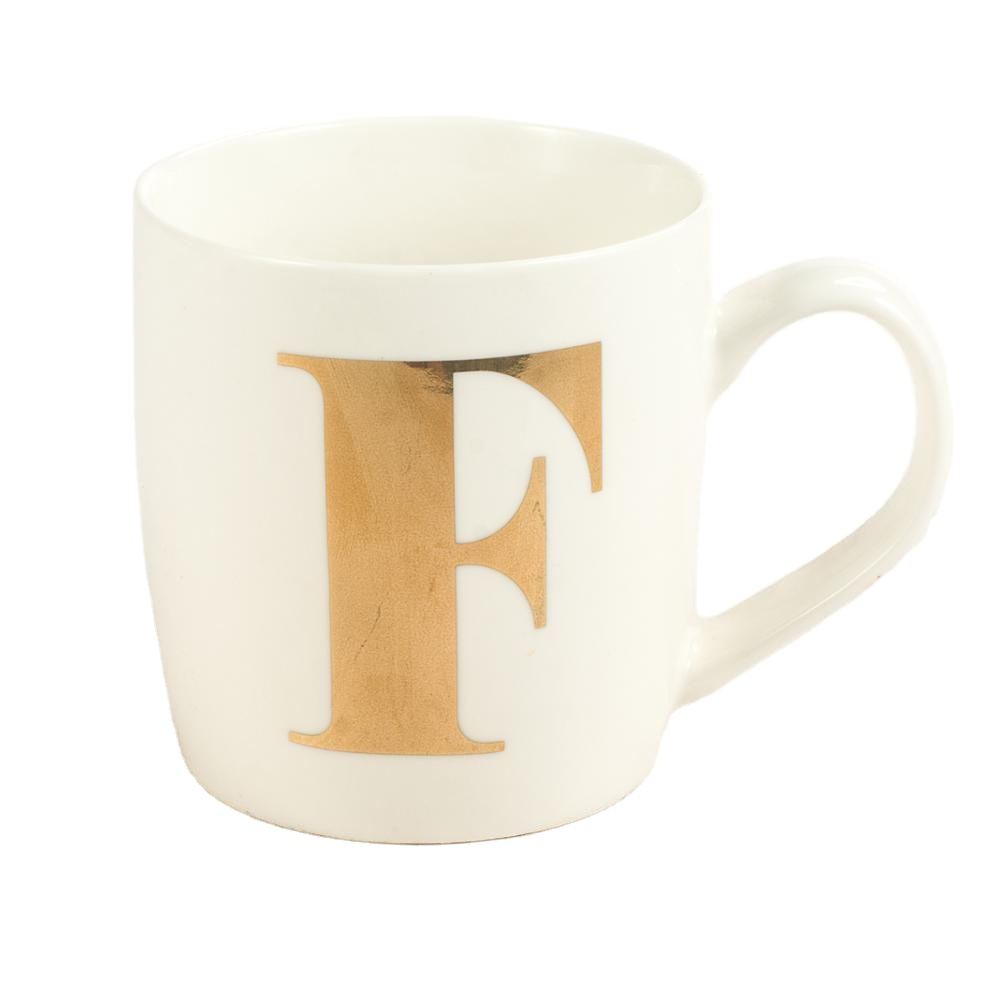 High quality customized cup with golden letters and arabic letters Wedding customized design ceramic mug with logo
