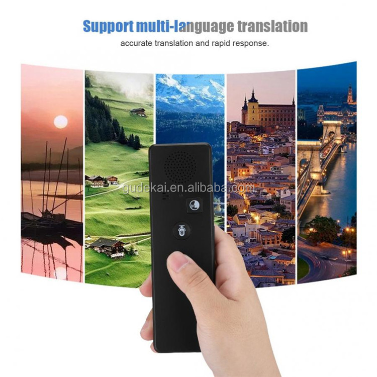 New Smart BT Pocket T3 language translator portable multilingual translator intelligent voice instant translator travel Traducto