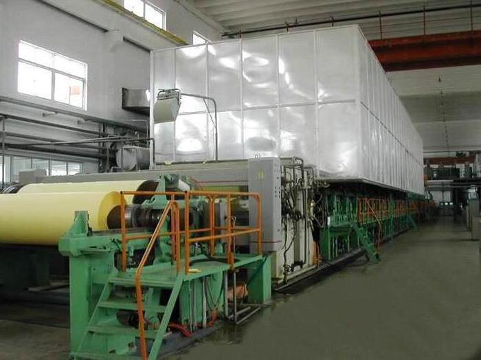 test liner fluting paper machine