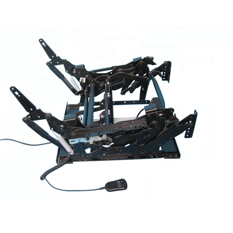 manual metal electric recliner sofa chair mechanism with electrical machinery