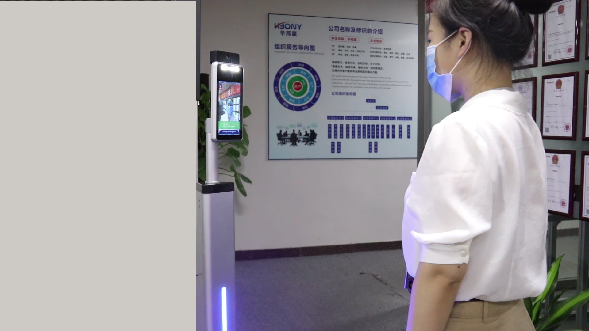 Body Facial And Attendance Machine Temperature Device Face Recognition Thermal Scanner Camera