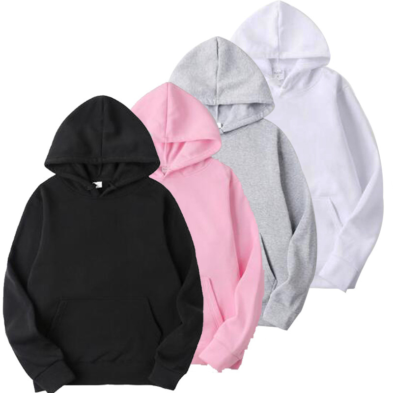 In Stock Droshipping Street Wear Custom Sweatshirt With Hood Unisex Custom Blank Hoodies
