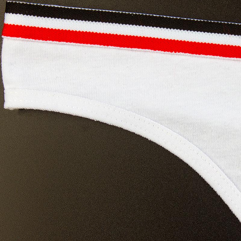Simple Design Sporty Style Seamless Fashion low waist organic soft cotton thong