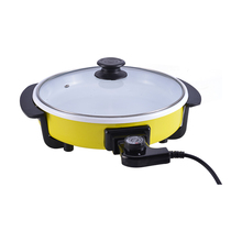 High Quality Factory Price Non Stick Electric Multi Color 10 Inch Pizza Frying Pan
